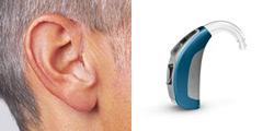 Behind -the-Ear Hearing Aid(BTE):