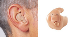 In-the-Ear Hearing Aid (ITE):