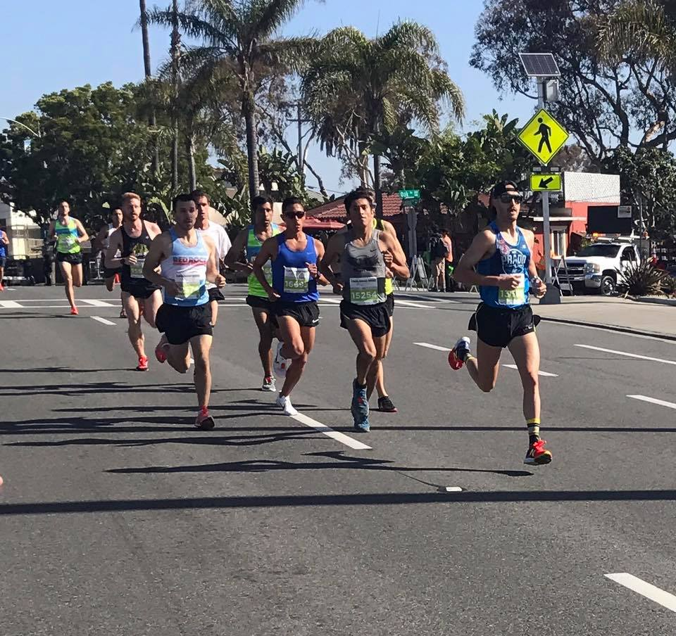 "In the first mile of Carlsbad 5000, I decided to keep the pace fast and ""honest"" because regardless of winning or not, I wanted to run a fast time."