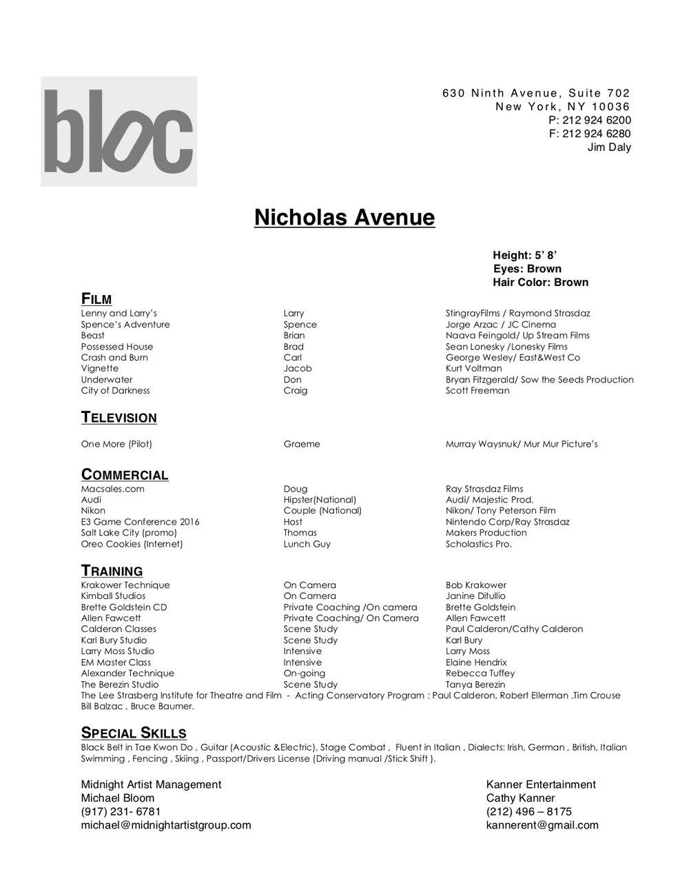 Nicholas Avenue Resume 2017 .jpg