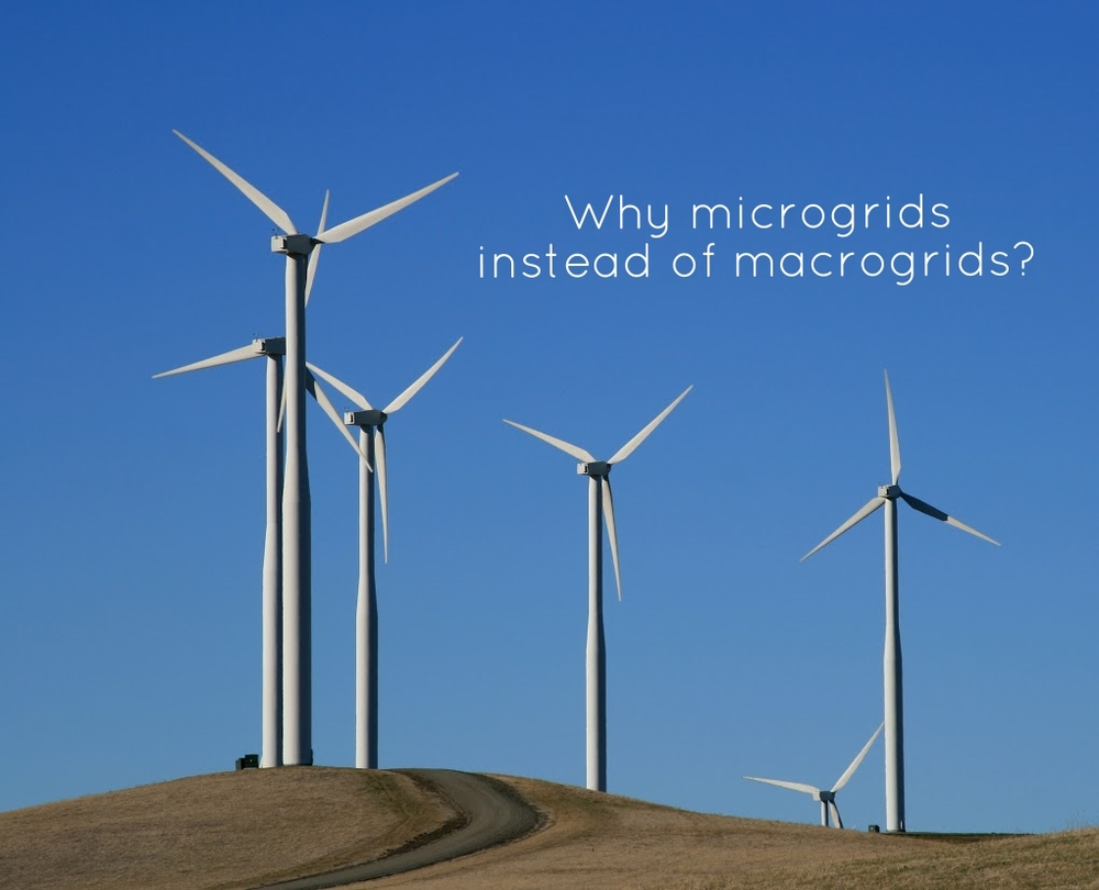 Microgrids and macrogrids