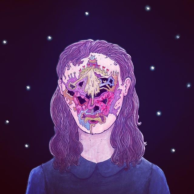 #illustration #scifi #decay #personalgrowth #goodhairday