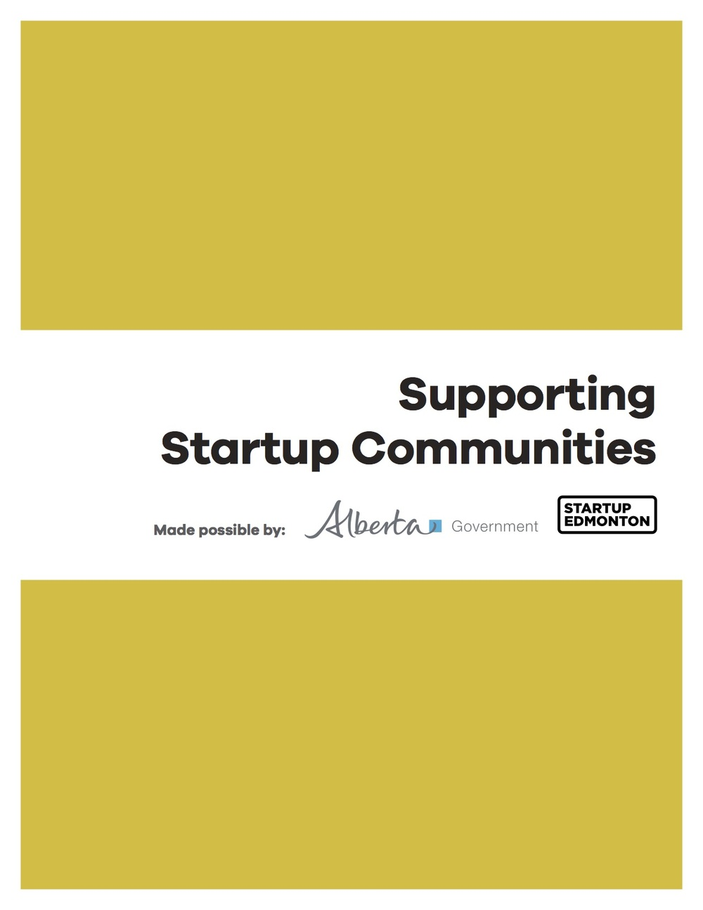 Click to download: Supporting Startup Communities Framework.