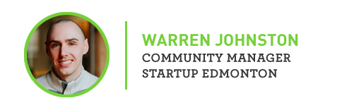 Warren Sign Off - Startup Edmonton