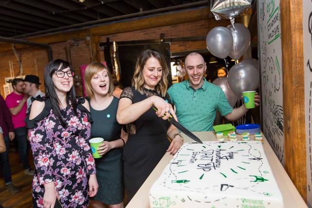 Anniversary Cake - Startup Edmonton