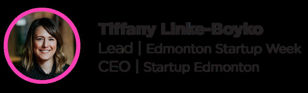 Tiffany - Startup Week
