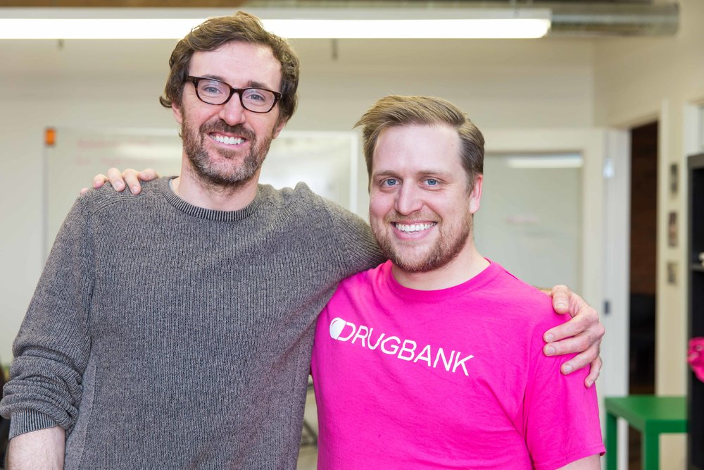 DrugBank Co-Founders Craig Knox and Michael Wilson