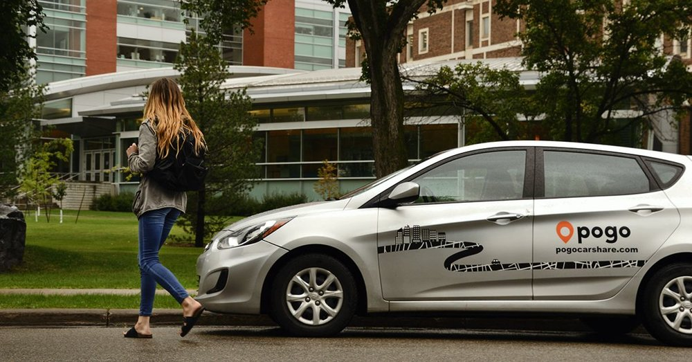 POGO CarShare makes the most of it's biggest marketing asset - a fleet of branded vehicles operated by their customers.