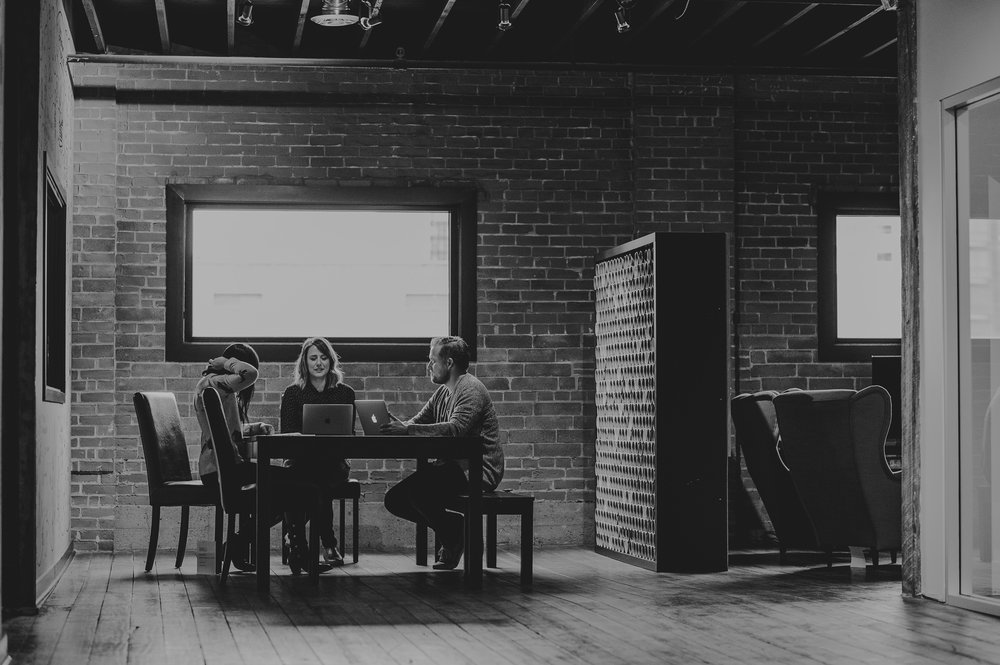 We have 14,000 square feet of coworking space in the historic Mercer Warehouse on 104th Street.
