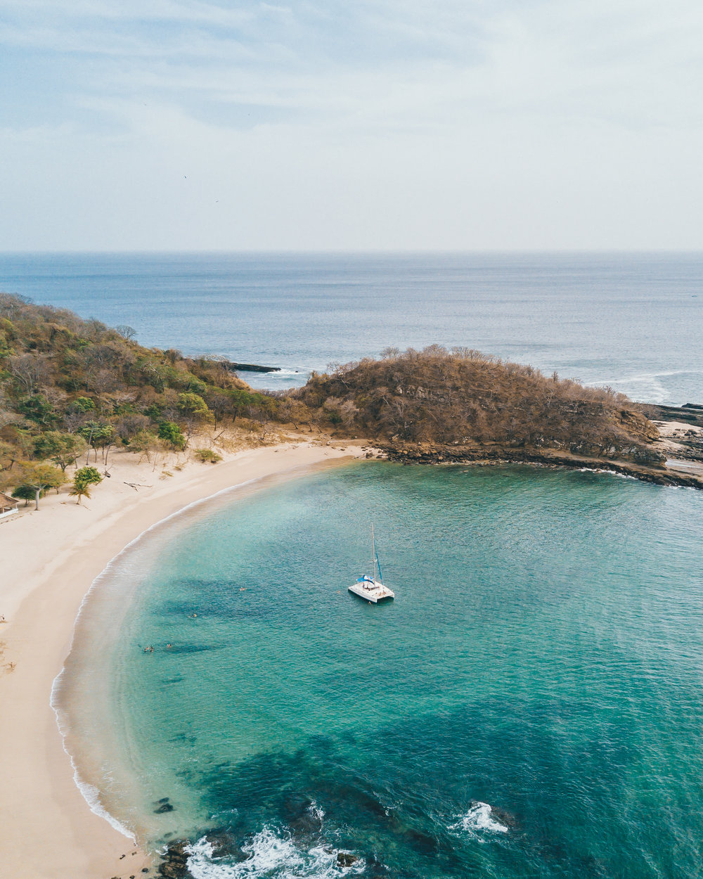 Catamaran day trip -