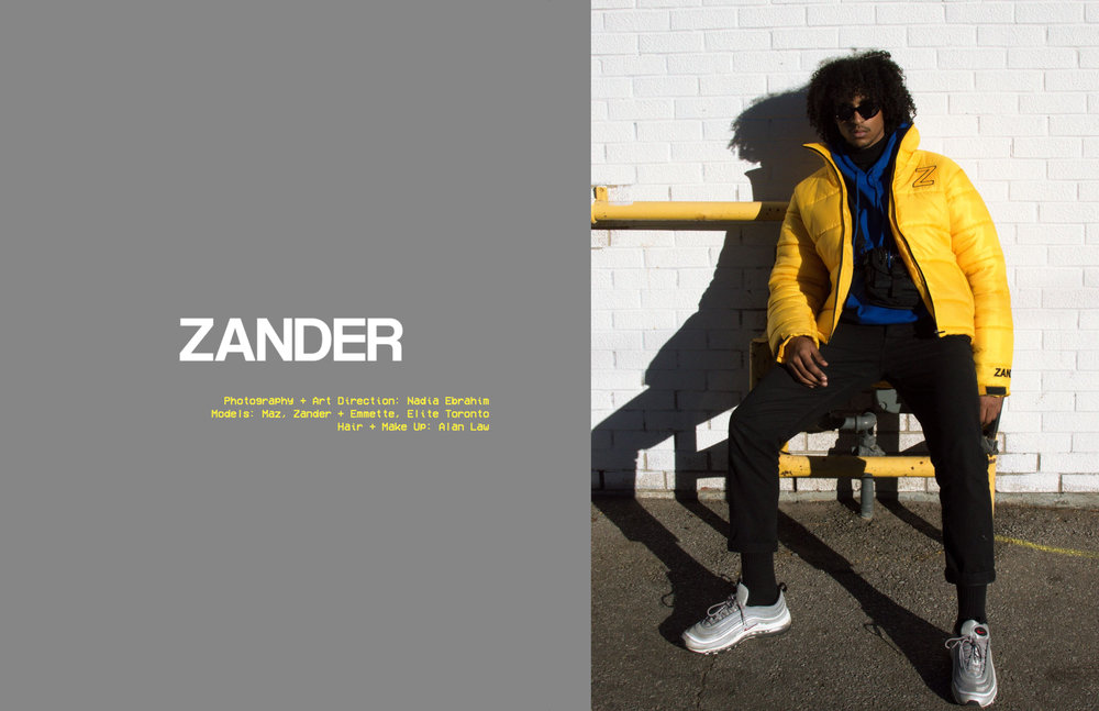 ZANDER F/W 17 EDITORIAL BY NADIA EBRAHIM - CLICK THE IMAGE TO VIEW