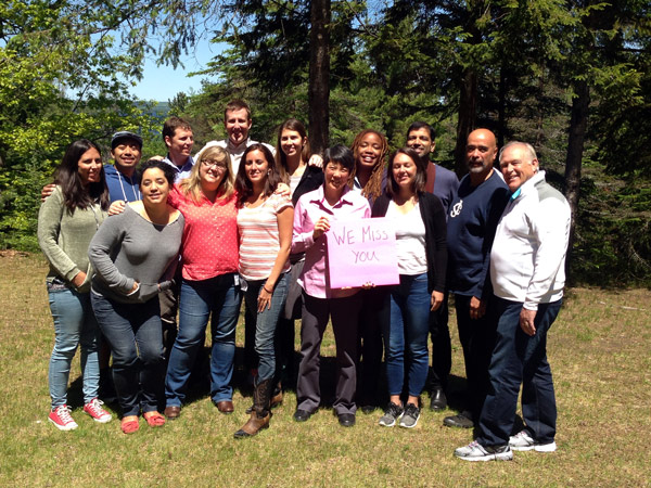 Rockwood Year-long Alumni retreat, Summer 2014