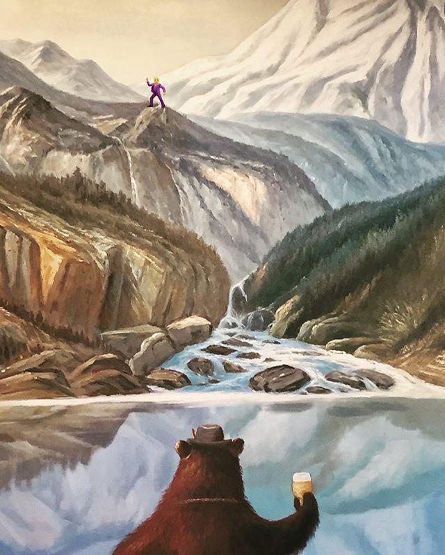 Cheers Mountain Man. . . #craftbeer #brewery #beer #oregon #hoodriver #cheers #travel @pfriembeer
