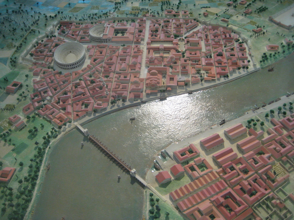 The city of Arelate - Roman Arles