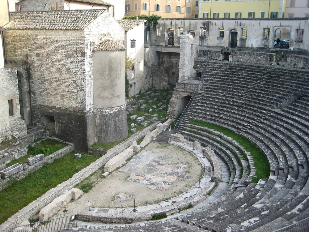 Spoleto, Roman Theatre