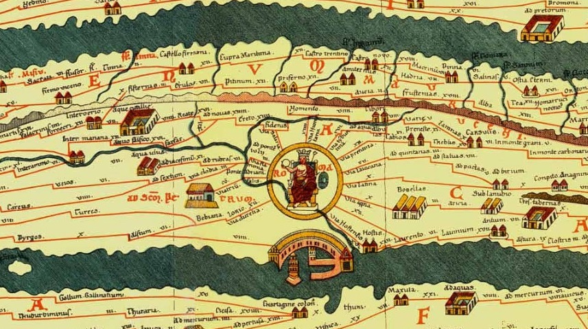 Ancient Roman Map Of The World.Did The Romans Have Maps Ian Ross