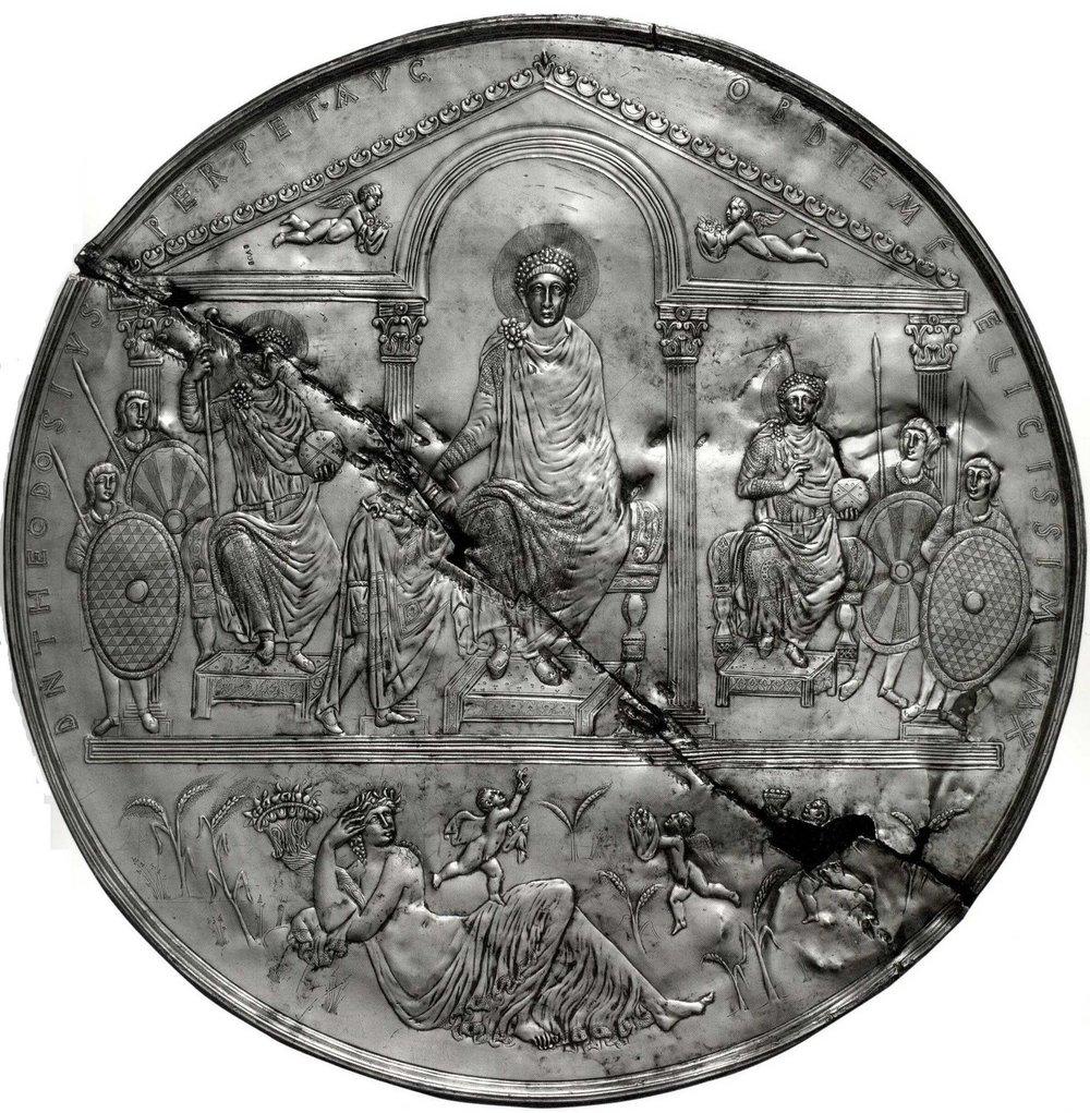 Theodosius Missorium