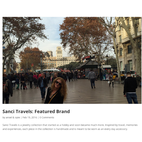 Sanci Travels Featured Brand