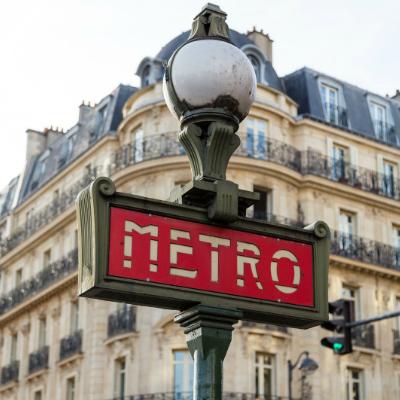 metro paris france