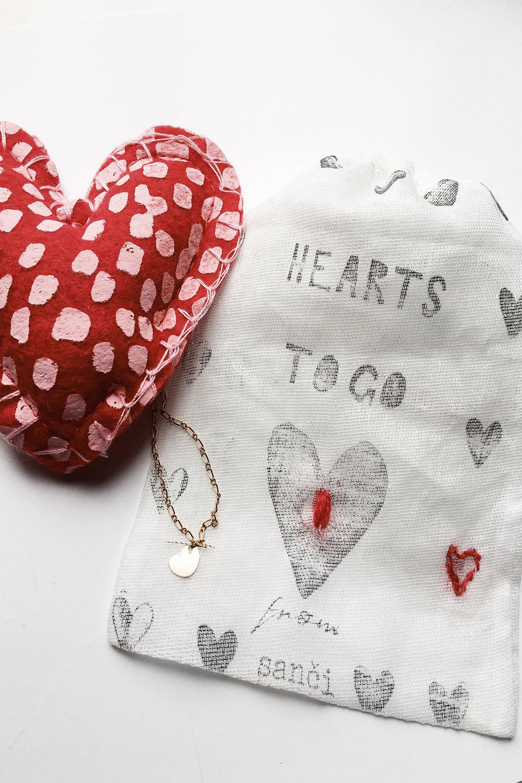 hearts to go -