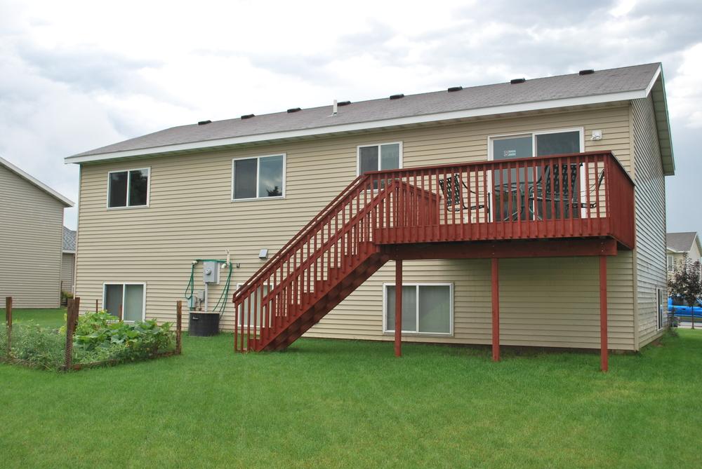 Backyard and Deck - Western Star (AFC)