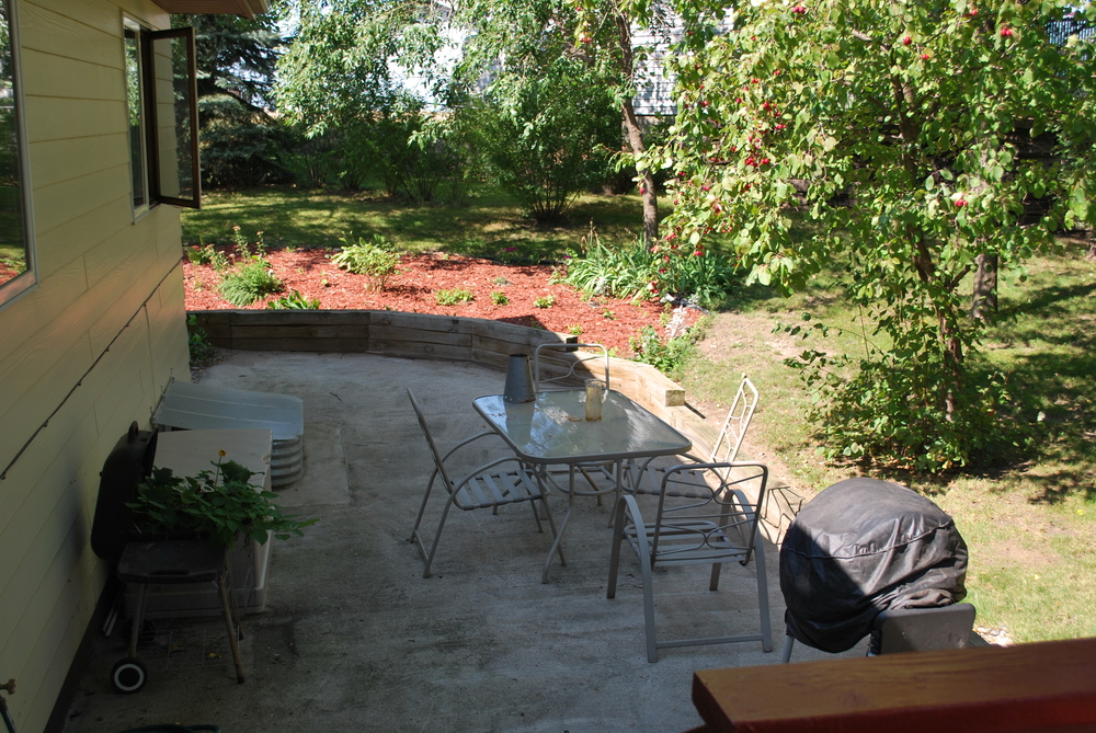 Backyard Patio - Beacon House (AFC)
