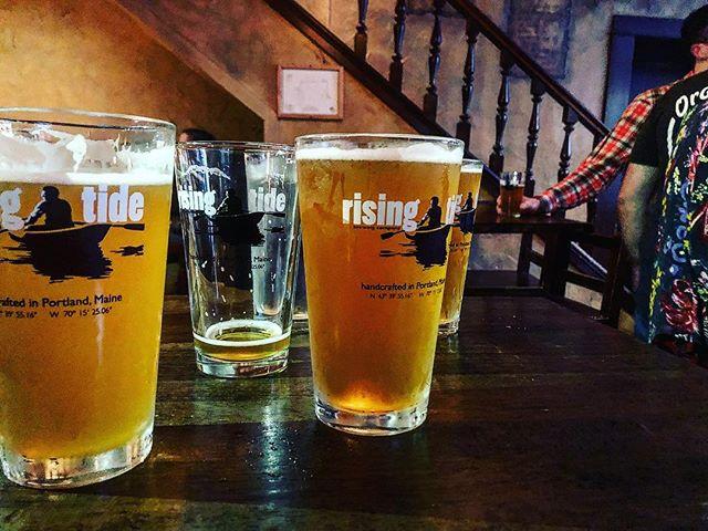 @risingtide Jewell Island @bullfeeny's #beerevents