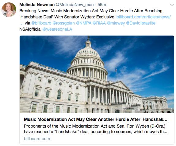 Melinda Newman Tweet