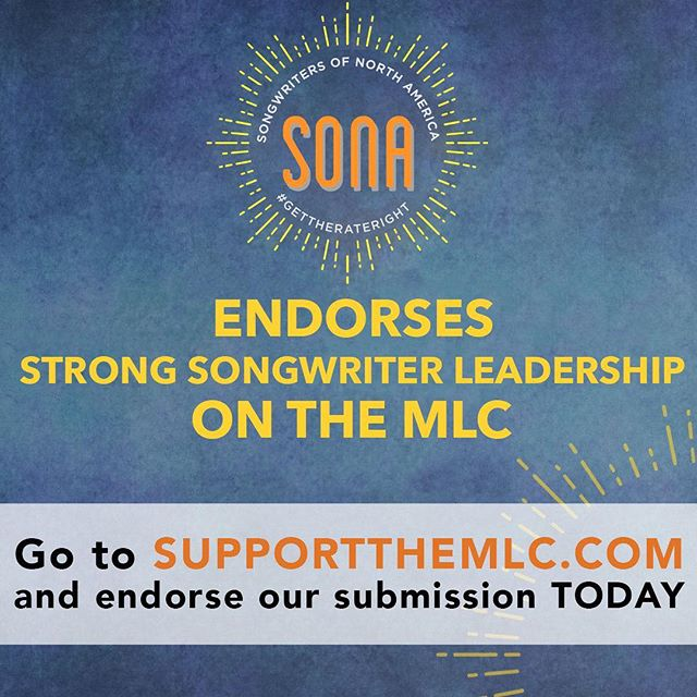 Songwriters mobilize! Go to http://supportthemlc.com (LINK IN BIO), hit the endorse button, sign your name, then REPOST/RT & TAG! We fought hard to pass the #MusicModernizationAct. Phase 2 is NOW. Demand strong songwriter leadership on the MLC! #SupportTheMLC #MusicArmy #songwriter #producer