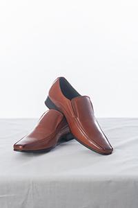 Rust Slip on Shoe