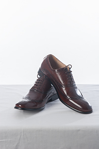 Two Tone Brown Brogue