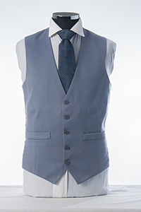 Epson Blue 3 Piece Waistcoat