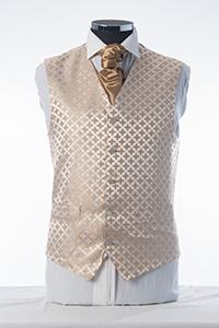 Gold & Ivory Sheen Waistcoat