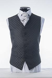 Granite & Silver Waistcoat