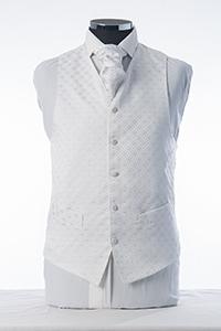Ivory & Silver Waistcoat
