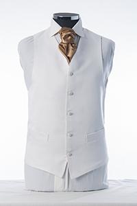 Ivory Dot Waistcoat