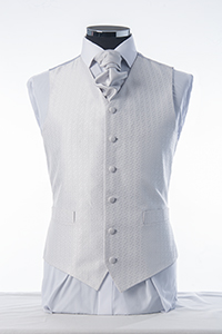 Silver Drop Waistcoat