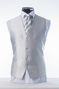 Silver Elite Waistcoat