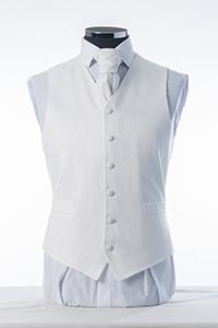 White Swirl Waistcoat