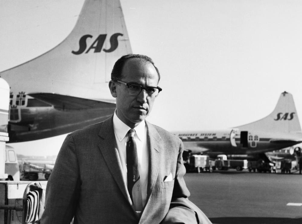 Jonas Salk, the understated medical hero SAS Scandinavian Airlines/Wikimedia Commons (public domain)