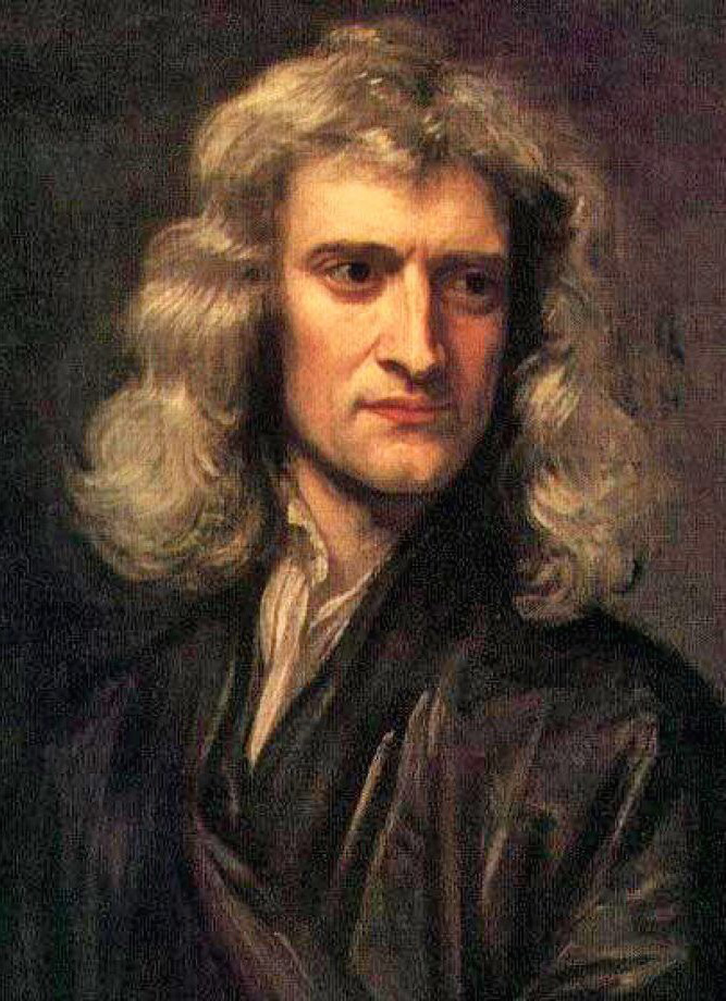 Isaac Newton, the massive physicist Godfrey Kneller/Wikimedia Commons (public domain)