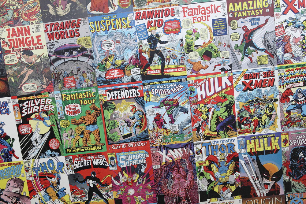 Comic books have been around for decades – but how have they affected those who read them?   Sam Howzitt/Flickr  (CC BY 2.0)