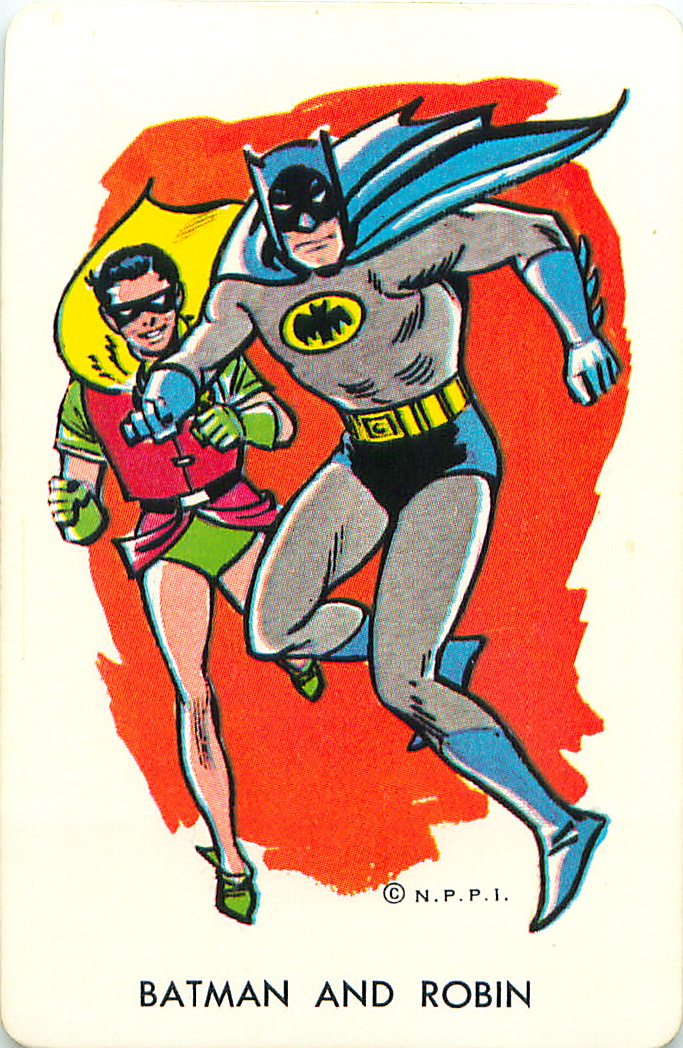 Batman and Robin... before they got gritty..   Mark Anderson/Flickr  (CC BY 2.0)