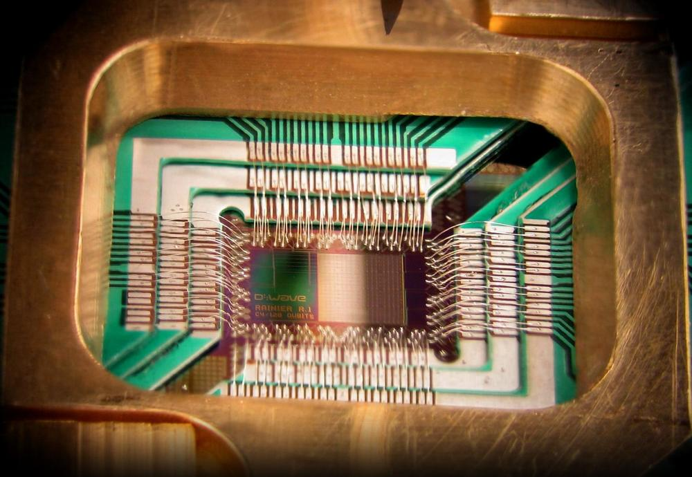 How close are we to technologies like quantum computing becoming ubiquitous? D-Wave Systems Inc./Wikimedia Commons (CC BY 3.0)