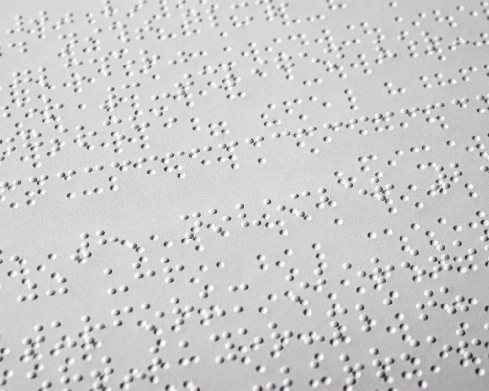 Making research more accessible includes printing it as braille.   Ralph Aichinger/Flickr  (CC BY 2.0)