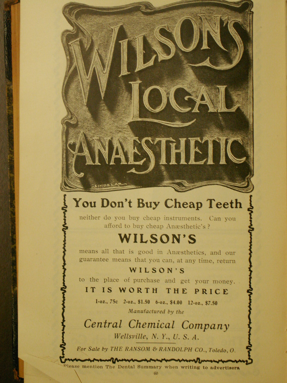 Don't buy cheap teeth…or cheap anaesthetics. rosefirerising/Flickr (CC BY-NC-ND 2.0)