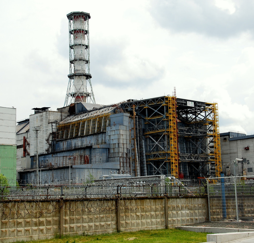 The abandoned Chernobyl plant, in 2008. Fi Dot/Flickr (CC BY-SA 2.0)