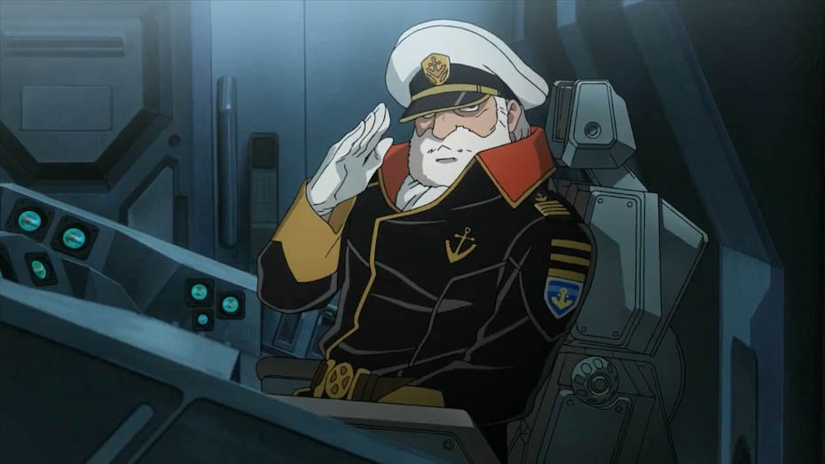 Captain Okita of Space Battleship Yamato. Danny Choo/Flickr (CC BY-SA 2.0)