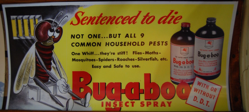 DDT was a very common ingredient even in domestic insecticides in the 1940s and 1950s, and bed bugs quickly became resistant.   Kevin Krejci/Flickr  (CC BY 2.0)