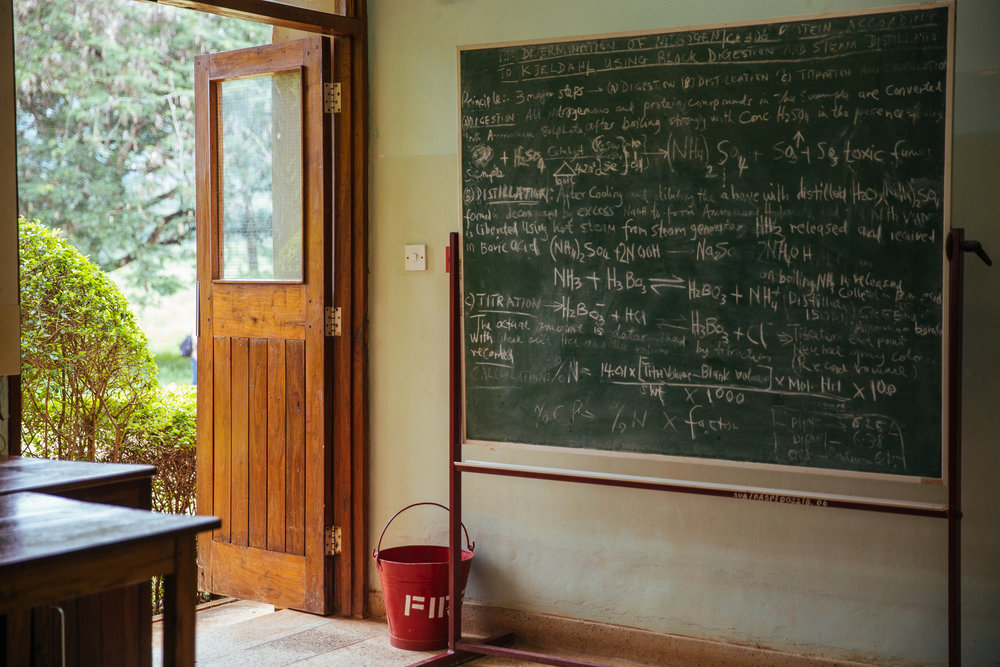 When scientists do outreach at primary schools, it helps break the stereotype of the wild-haired mad scientist, scratching out equations in an empty room. Mitchell Maher/International Food Policy Institute/Flickr (CC BY-NC-ND 2.0)